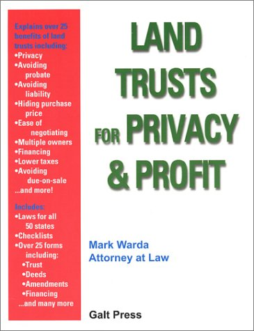9781888699012: Land Trusts for Privacy & Profit
