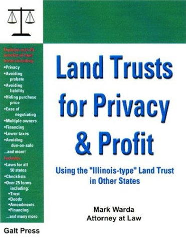 Land Trusts for Privacy and Profit : Warda, Mark
