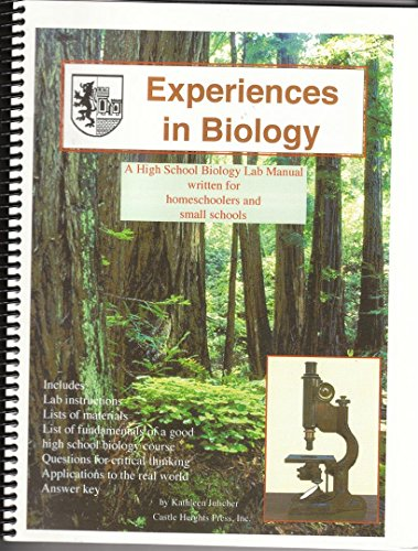9781888717273: Experiences in Biology Manual: A Biology Lab Manual