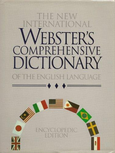 9781888777055: New International Webster's Comprehensive Dictionary: Standard Encyclopedic Edition