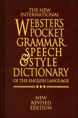 9781888777154: The new international Webster's pocket dictionary of the English language