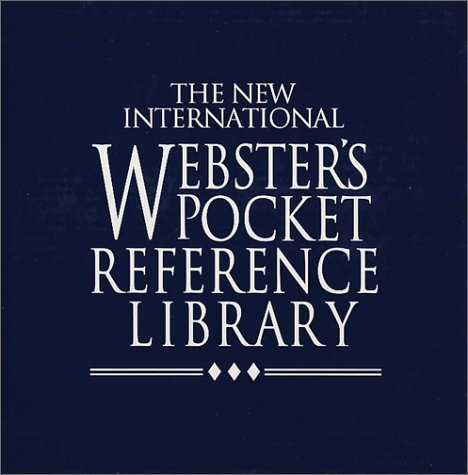 9781888777871: The New International Webster's Pocket Reference Library