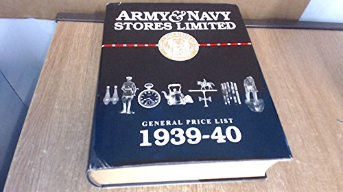 9781888777963: Army & Navy Stores Unlimited: General Price List