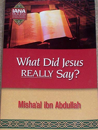 9781888782097: What did Jesus Really Say?