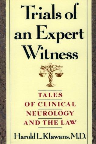 9781888799194: Trials of an Expert Witness