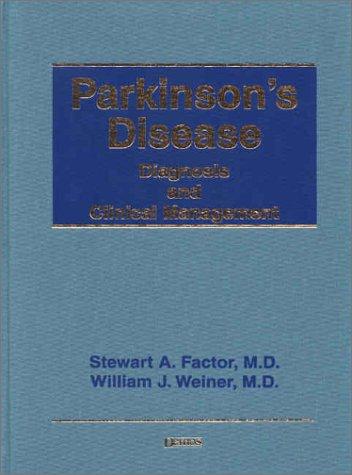 9781888799507: Parkinson's Disease: Diagnosis and Clinical Management