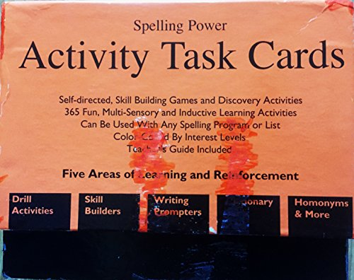 9781888827149: Spelling Power Activity Task Cards
