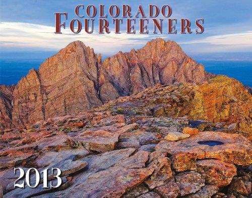 9781888845662: Colorado Fourteeners 2013 Deluxe Wall Calendar