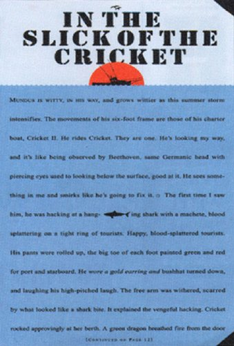 """In the Slick of the Cricket : The Real Story of the """"Jaws"""" Captain (Editor's Book ..."""