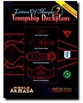 9781888906547: Letters of Marque, No. 2: Troopship Deckplans (Fading Suns- Noble Armada)