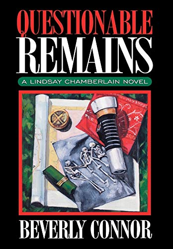 9781888952537: Questionable Remains (Lindsay Chamberlain Mysteries)