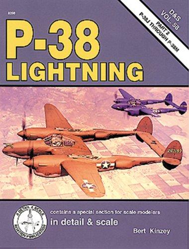 9781888974119: P-38 Lightning in detail & scale, Part 2: P-38J through P-38M - D&S Vol. 58