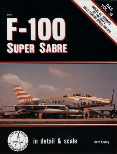9781888974270: F-100 Super Sabre in detail & scale - D&S Vol. 33