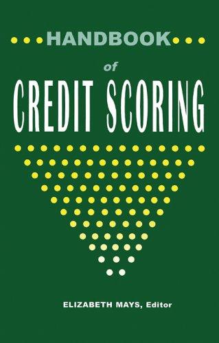 9781888988017: Handbook of Credit Scoring