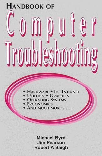 9781888998993: Handbook of Computer Troubleshooting