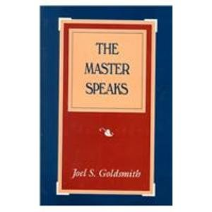 9781889051437: Master Speaks