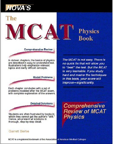 9781889057002: The MCAT Physics Book
