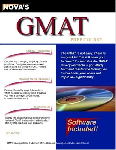 9781889057132: GMAT Prep Course : 2000