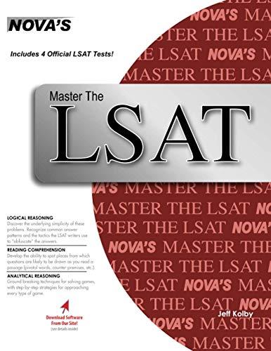 9781889057316: Master the LSAT Includes 4 Official LSATs! (Nova's Master the LSAT)