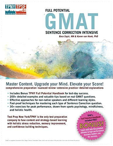 9781889057552: Full Potential GMAT Sentence Correction Intensive