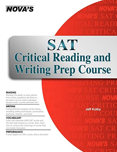 9781889057859: SAT Critical Reading and Writing Prep Course