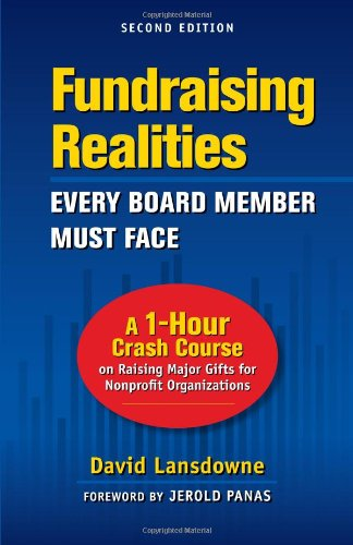 Fundraising Realities Every Board Member Must Face: David Lansdowne