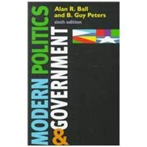 9781889119076: Modern Politics and Government (Comparative Politics & the International Political Economy,)