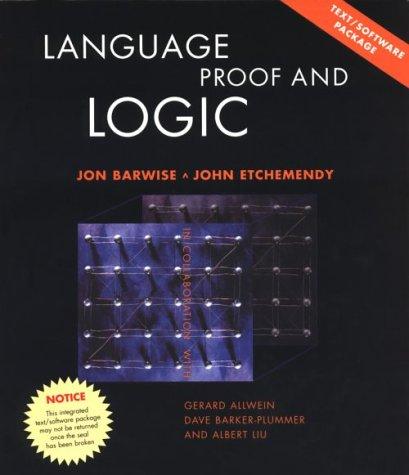 9781889119083: Language, Proof, and Logic