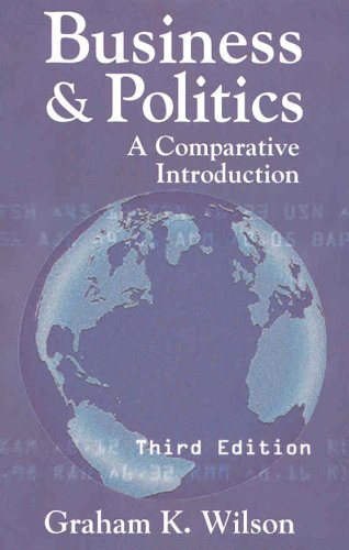 9781889119885: Business and Politics: A Comparative Introduction, 3rd Edition