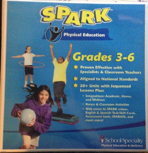 9781889127897: Spark Physical Education Grades 3-6