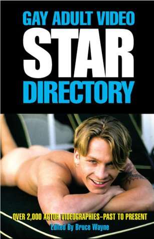 9781889138220: Gay Adult Video Star Directory: Over 1000 Actor Videographies, Past to Present