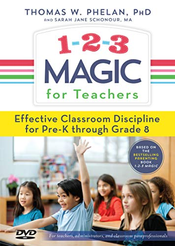 9781889140292: 1-2-3 Magic for Teachers: Effective Classroom Discipline Pre-K through Grade 8