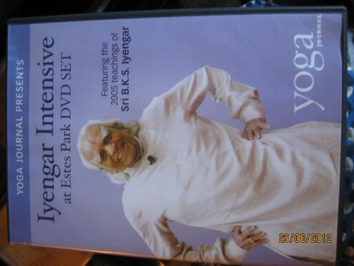 9781889165158: Iyengar Intensive At Estes Park 5 Dvd Set Featuring the 2005 Teachings Of Sri B.K.S. Iyengar