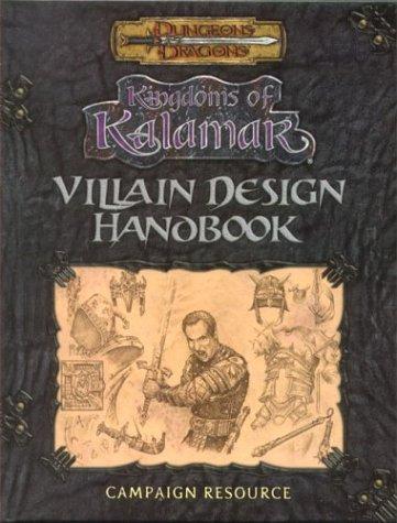9781889182124: Villain Design Handbook (Dungeons & Dragons: Kingdoms of Kalamar Supplement)