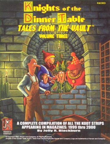 9781889182278: Knights of the Dinner Table: Tales from the Vault, Vol. 3