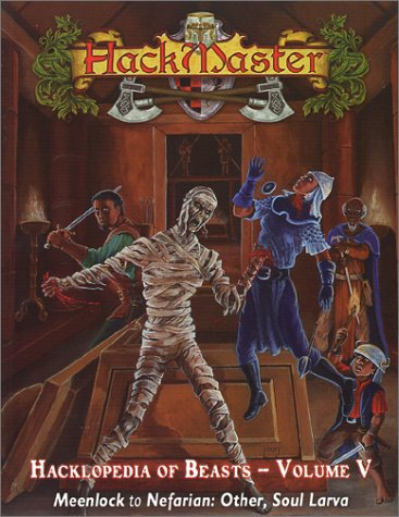 9781889182421: Hackmaster: The Hacklopedia of Beasts, Vol 5