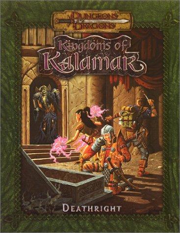 9781889182575: Deathright (Dungeons & Dragons: Kingdoms of Kalamar Adventure)