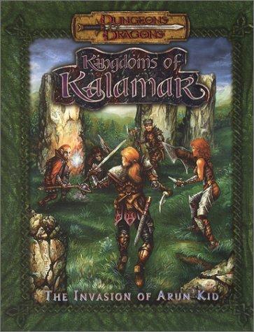 9781889182605: Invasion of Arun'Kid (Dungeons & Dragons: Kingdoms of Kalamar Adventure)
