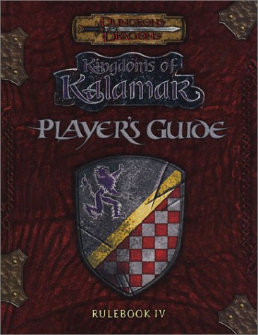 9781889182612: Player's Guide - Rulebook IV (Dungeons & Dragons: Kingdoms of Kalamar)