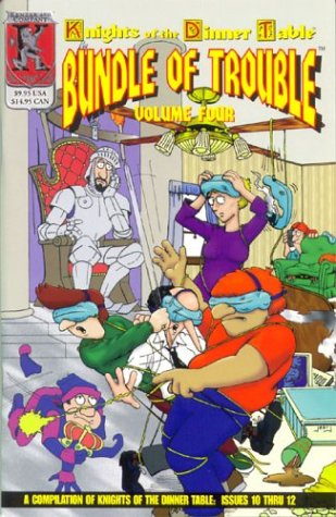 9781889182780: Knights of the Dinner Table: Bundle of Trouble, Vol. 4