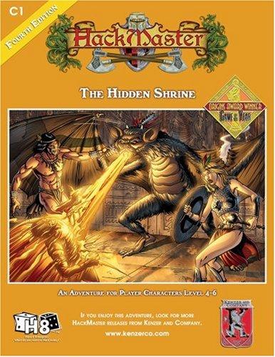 HackMaster: The Hidden Shrine: Glozeris, Paul