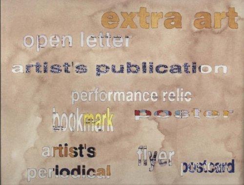9781889195483: Extra Art: A Survey of Artist's Ephemera 1960-1999