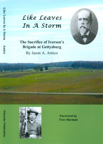 9781889246413: Like Leaves In A Storm: The Sacrifice of Iveron's Brigade at Gettysburg