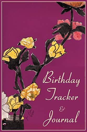 Birthday Tracker & Journal: Yager, Jan
