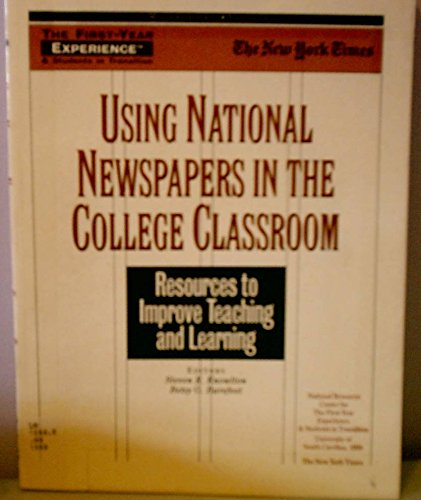 Using National Newspapers in the College Classroom: Rknowlton, Steven