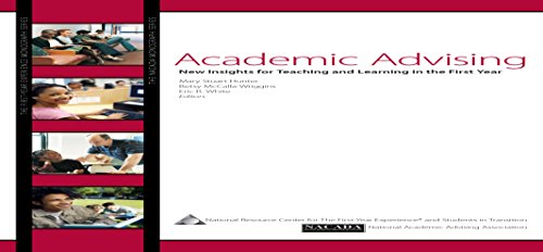 9781889271552: Academic Advising: New Insights for Teaching and Learning in the First Year (First-Year Experience Monograph No. 46)