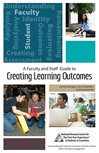 A FACULTY AND STAFF GUIDE TO CREATING LEARNING OUTCOMES, UNIVERSITY OF SOUTH CAROLINA PRESS: ...