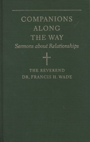 9781889274010: Companions along the way: Sermons about relationships