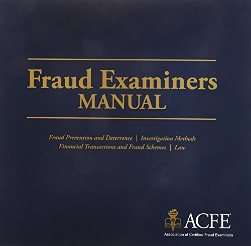 Fraud Examiner's Manual - Complet e 2 Volume Set: Association of Certified Fraud Examiners