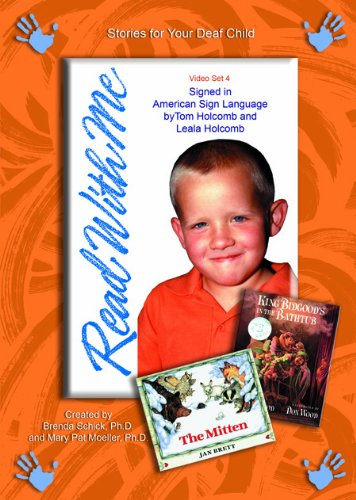 9781889322766: Read With Me 4: The Mitten: A Ukrainian Folktale and King Bidgood's in the Bathtub